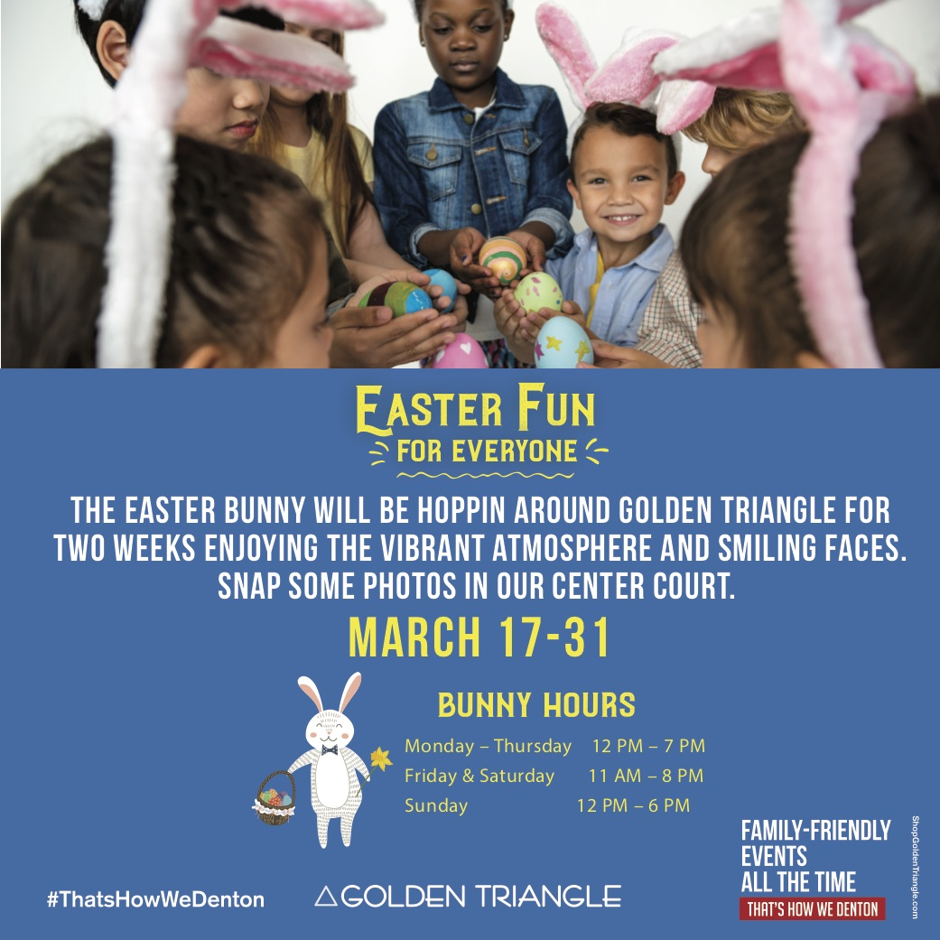 Easter Fun for Everyone at Golden Triangle