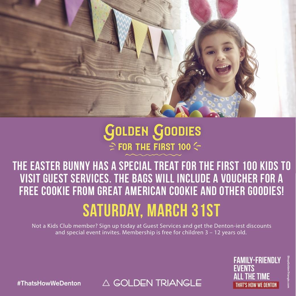 Golden Goodies For First 100 Kids