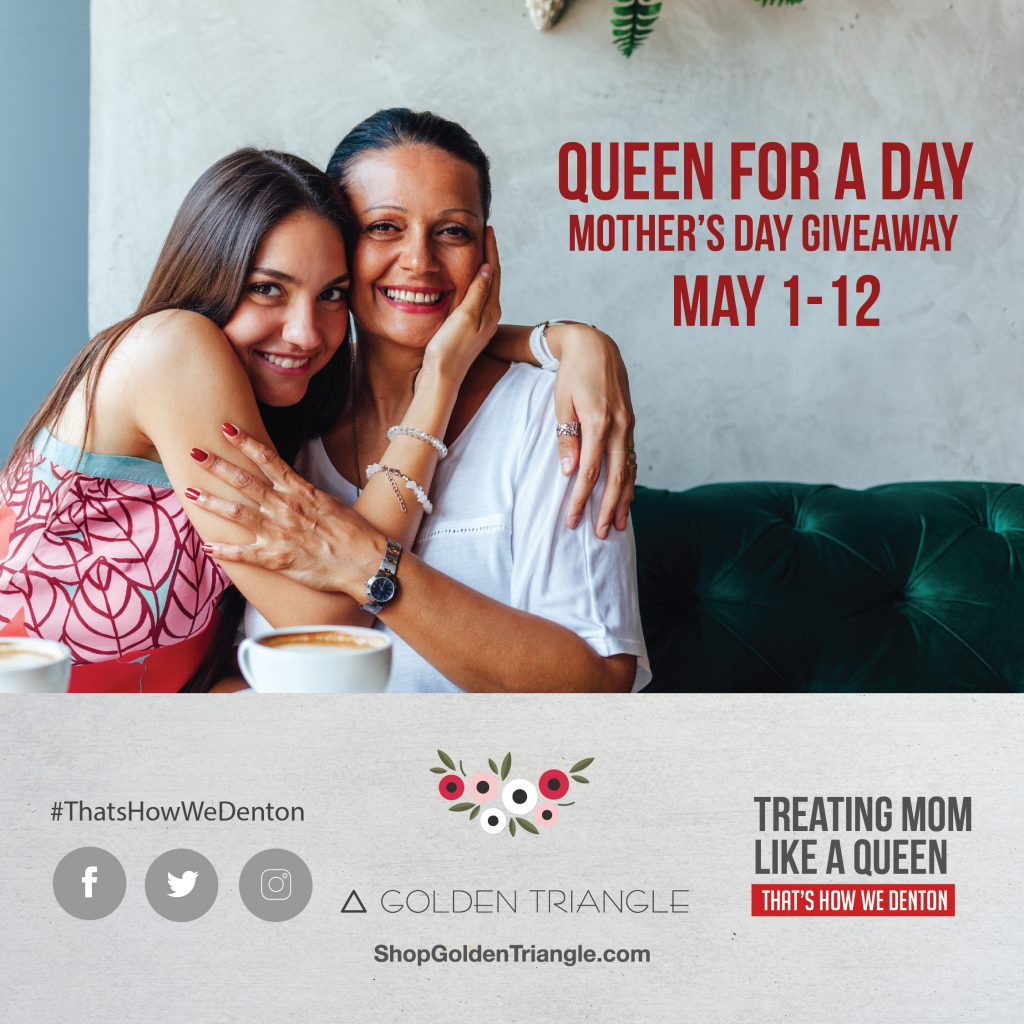 Upcoming Events Mother's Day Giveaway