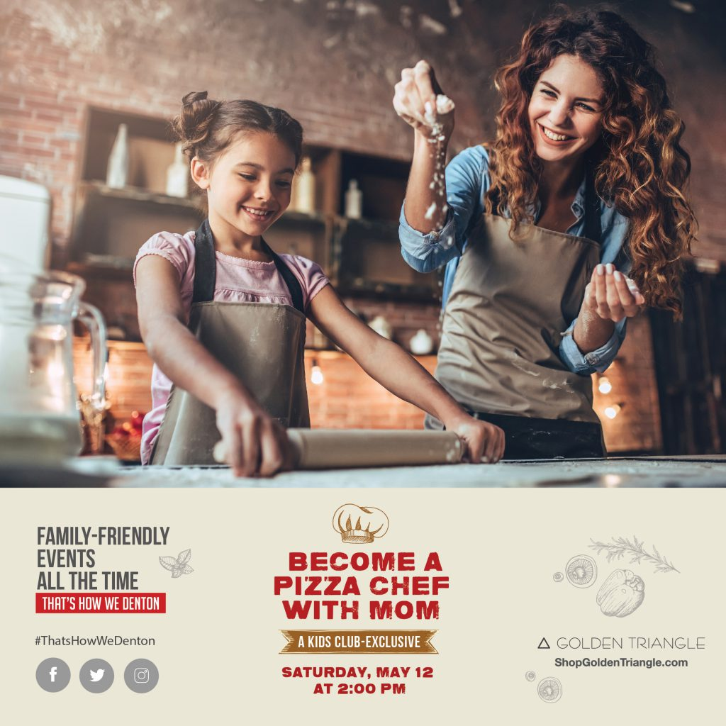 Upcoming Events Kids Club Pizza with Mom