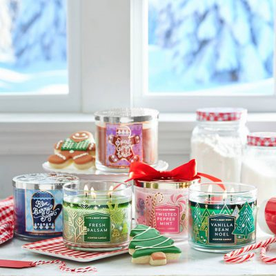 The Smell of the Holiday Season in Denton with Bath & Body Works
