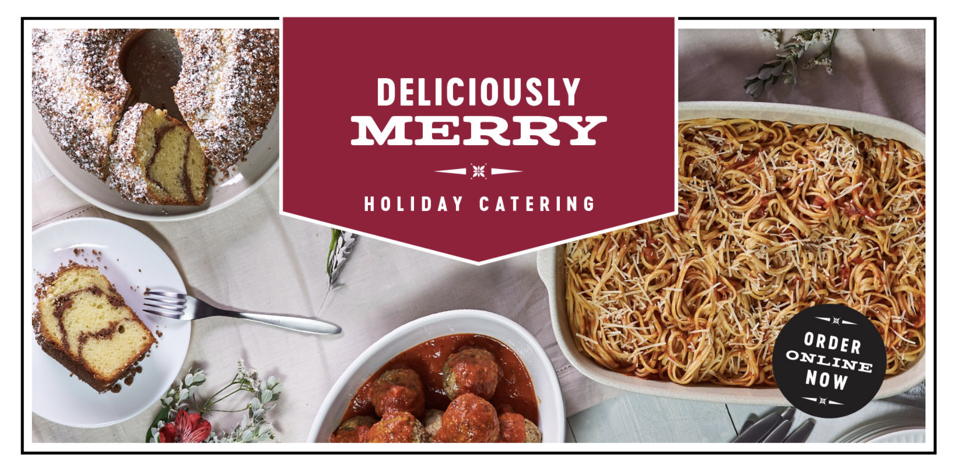 Deliciously Merry Holiday Catering