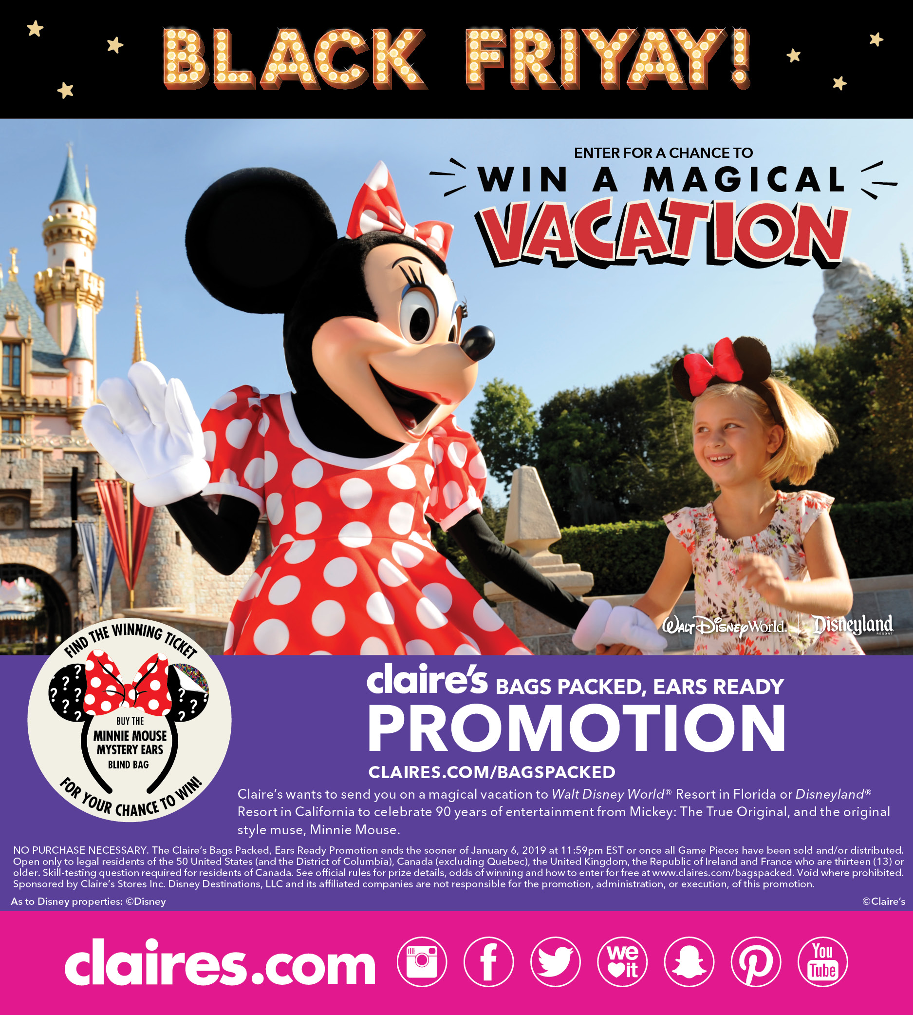 Win a Disney Dream Vacation