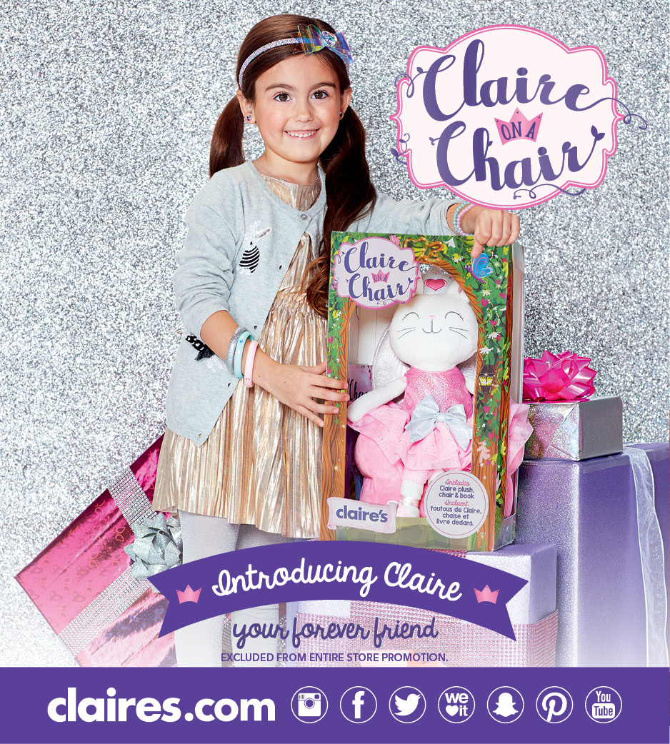 Introducing Claire on a Chair!