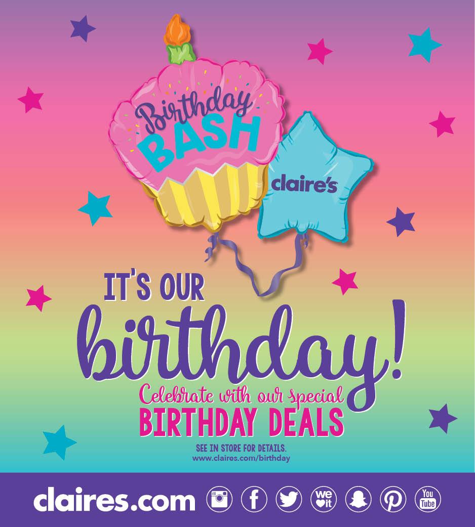 Celebrate Claire's Birthday