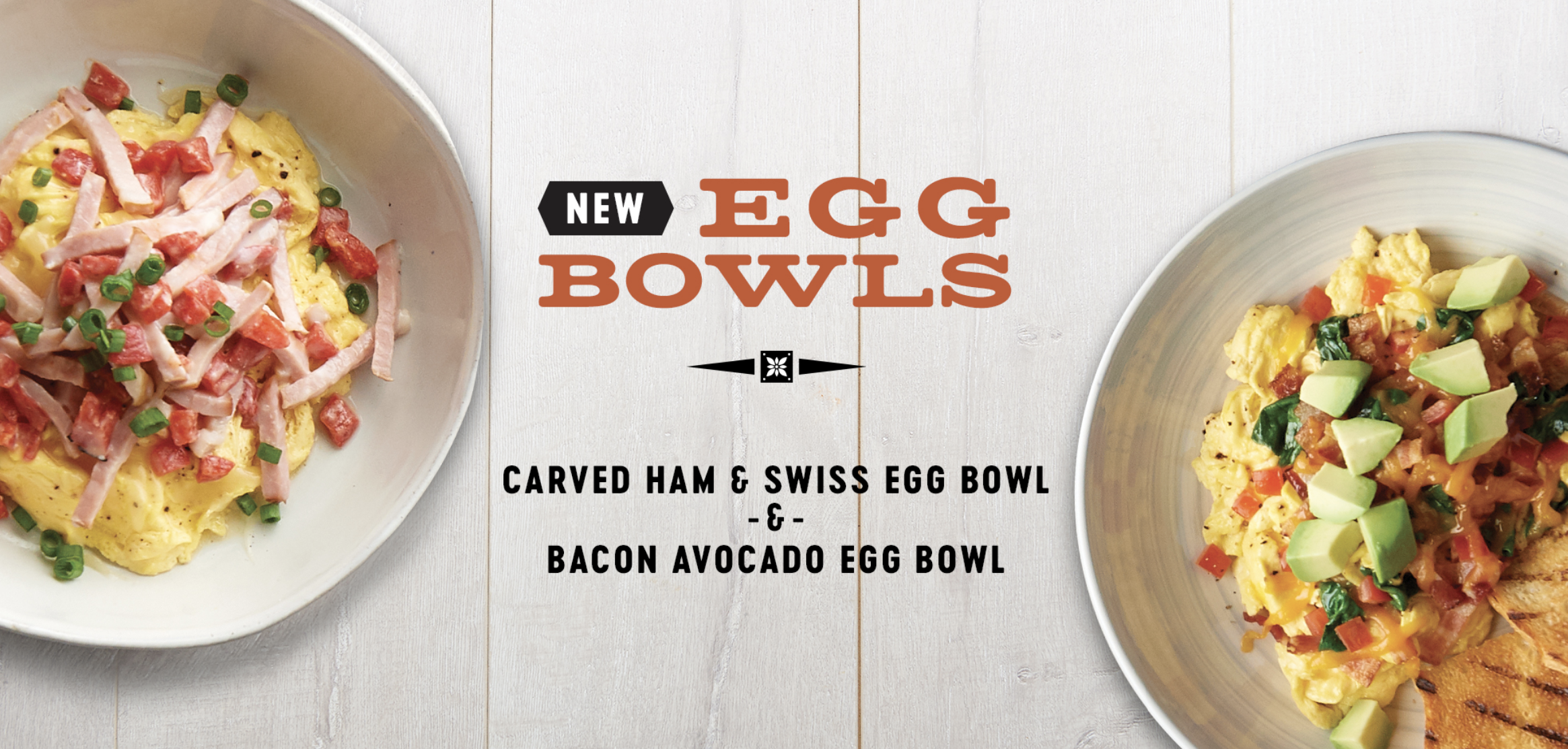 Try Our New Egg Bowls