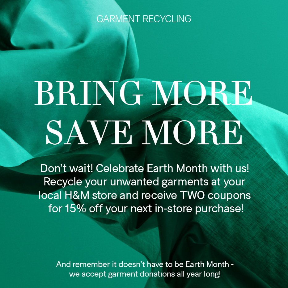 Garment Recycling — Double Discount Cards