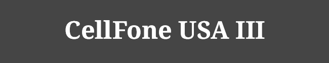 CellFone USA III