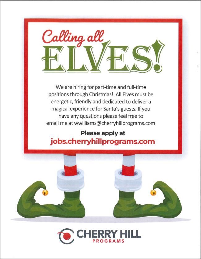 Calling All Elves!