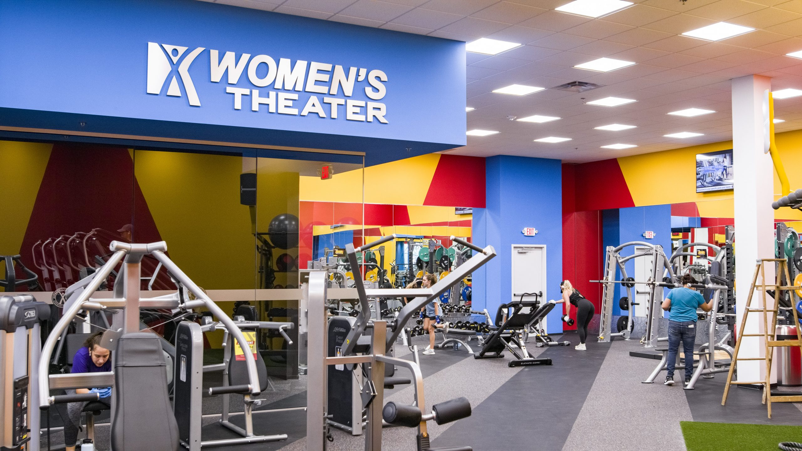 fitness connection in denton golden triangle mall