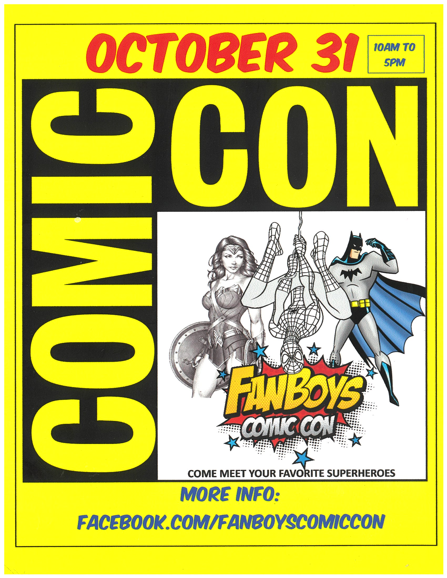 Get Ready for Comic Con!