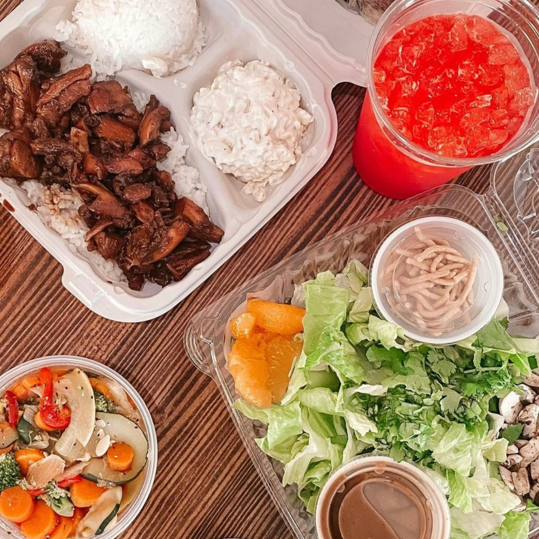 Try Our Hawaiian Plate Lunch